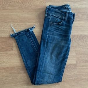 American Eagle super low rise jegging